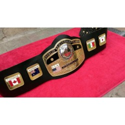 NWA World Heavyweight Championship Leather belt