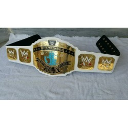 WWF WWE World Intercontinental Championship Wrestling Leather belt