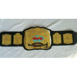 WWF World Tag Team Championship Wrestling Leather belt