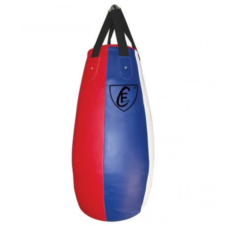 Muay Thai High Quality MMA Training Punching Bag,Blue and Red