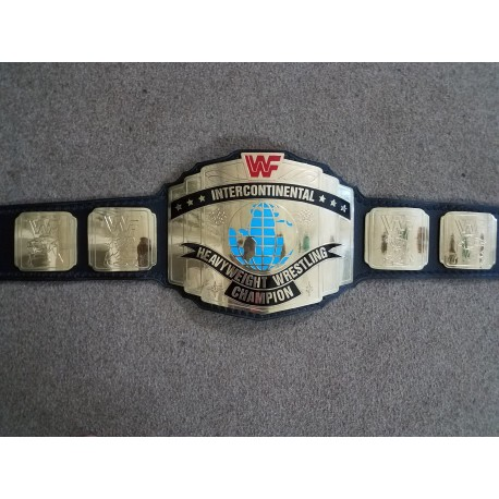 WWF Intercontinental Championship Belt Classic Red Logo