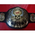 WWF Smoking Skull Heavyweight Championship Belt