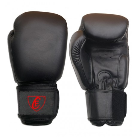 New Men's 2015 Boxing Gloves Cowhide Leather,Black