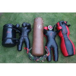 6 pcs BRAZILIAN Boxing Punching Bag Mma Dummy Uppercut Bag Balgarian Bag 100cm