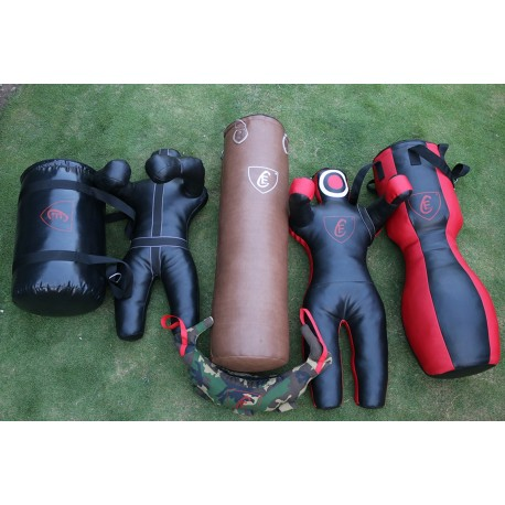 6 pcs BRAZILIAN Boxing Punching Bag Mma Dummy Uppercut Bag Balgarian Bag 150cm
