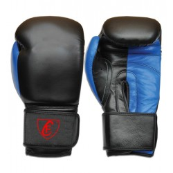 New Men's 2015 Boxing Gloves Cowhide Leather,Blue