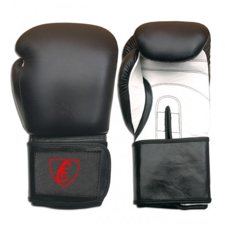 New Men's 2015 Boxing Gloves Cowhide Leather,Black and White