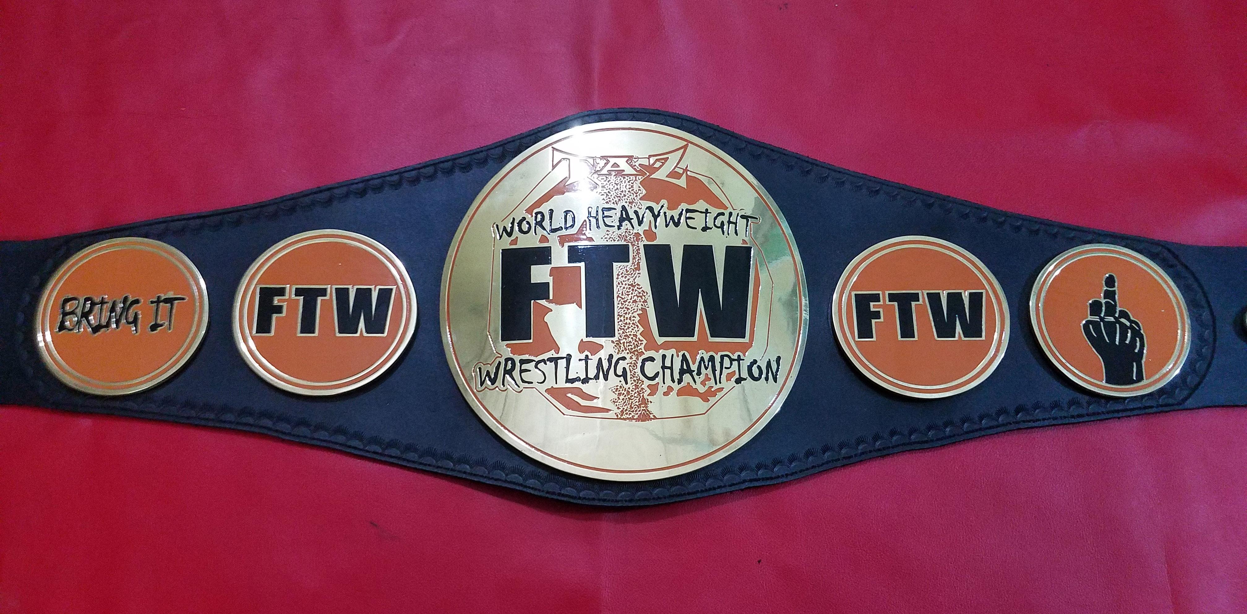 ftw-world-heavy-weight-championship-belt