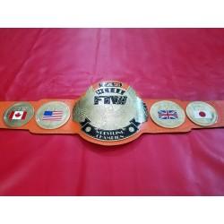 FTW TAZ World Championship Belt